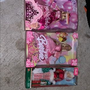 3 Barbie Collectors Items (2002,2003,2004)